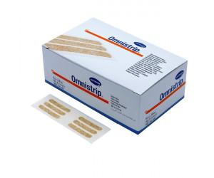 Omnistrip / Омнистрип - стерильные полоски на операционные швы, 6x101 мм,1 пластина (10 полосок)