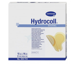 Hydrocoll Sacral / Гидроколл Сакрал - гидроколлоидная повязка на крестец, 12х18 см